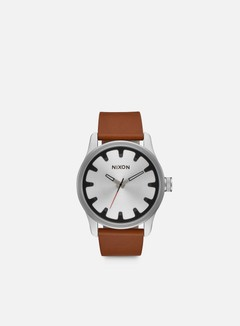 Nixon - Driver Leather, Black/Brown 1