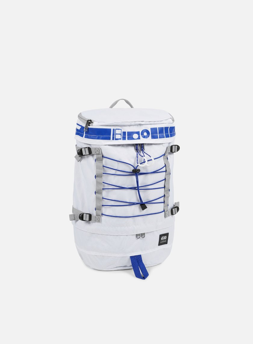 Nixon - Drum Backpack Star Wars, R2D2 White