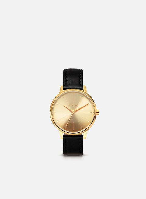 accessori nixon kensington leather gold