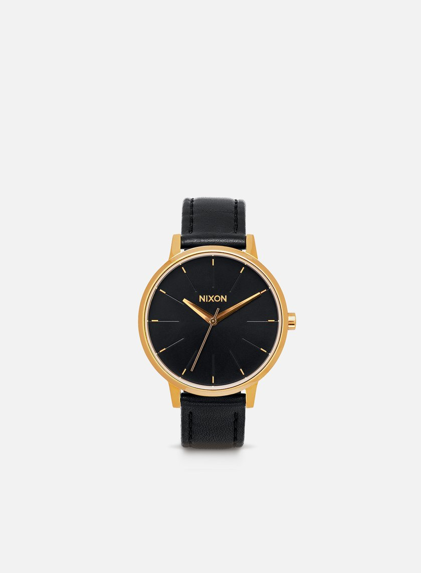 Nixon - Kensington Leather, Gold/Black