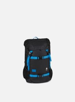 Nixon - Landlock Backpack, Black/Blue/Float