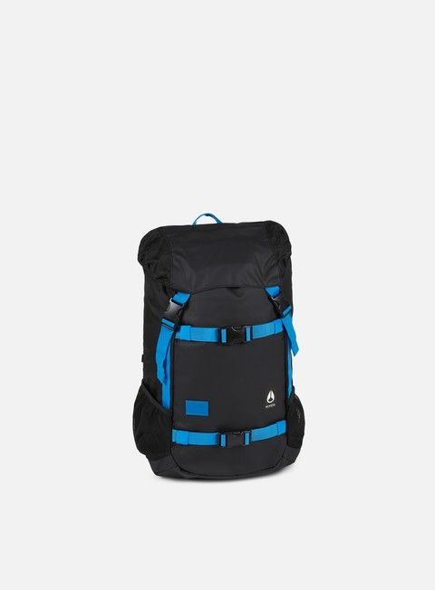 accessori nixon landlock backpack black blue float
