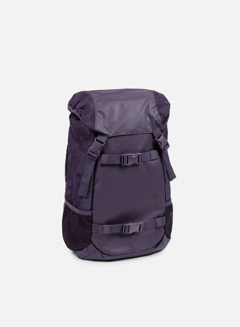accessori nixon landlock backpack deep purple
