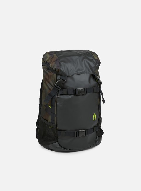 accessori nixon landlock backpack geo camo