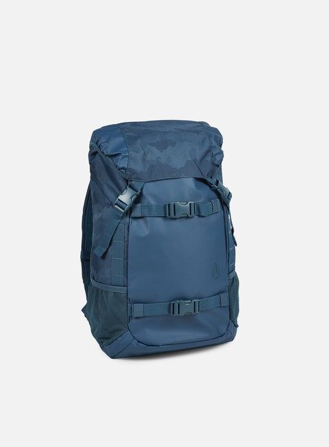 accessori nixon landlock backpack moroccan blue