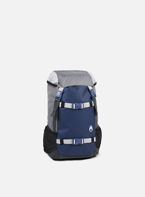 accessori nixon landlock backpack navy grey