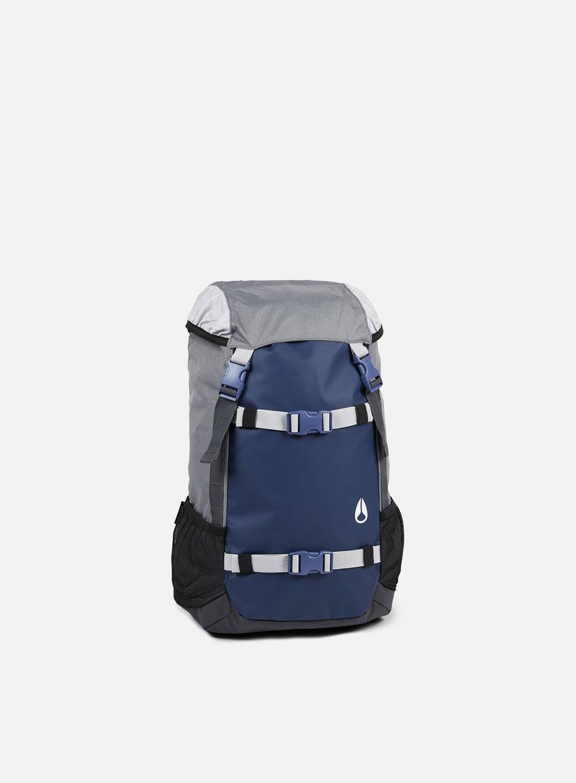 Nixon - Landlock Backpack, Navy/Grey