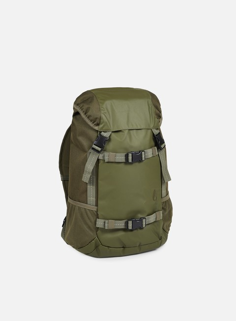 accessori nixon landlock backpack olive