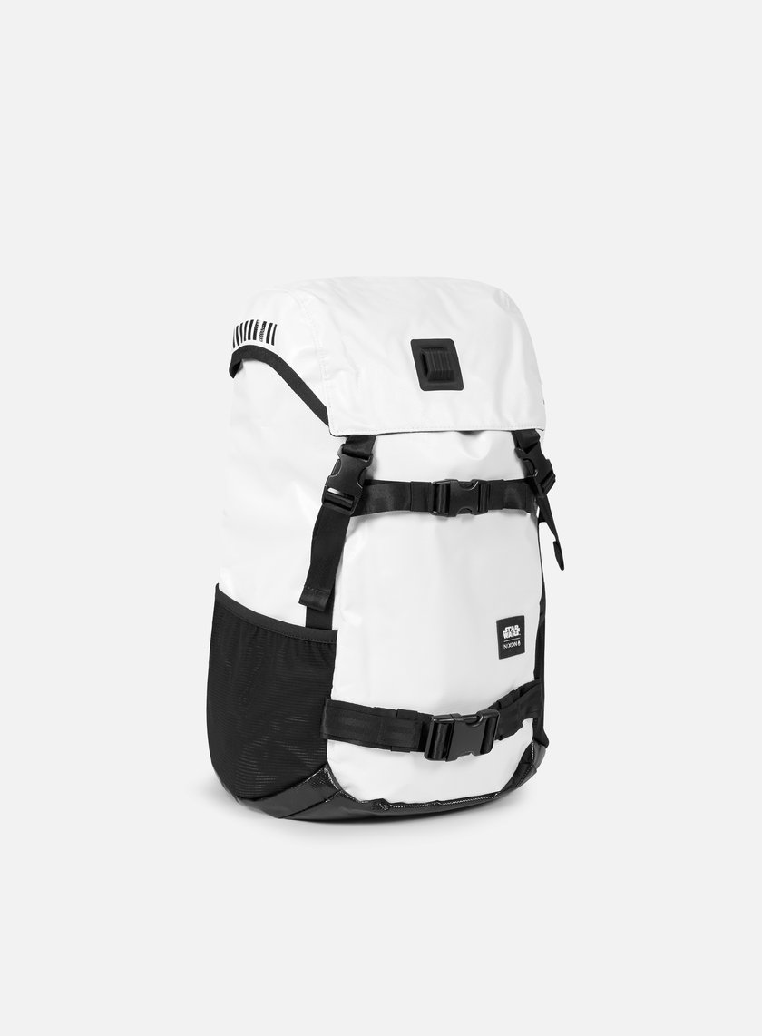 Nixon - Landlock Backpack Star Wars, Stormtrooper White