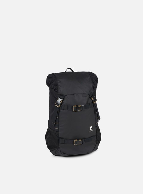 accessori nixon landlock iii backpack all black nylon