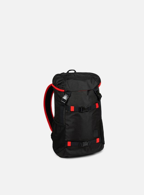 accessori nixon landlock se ii backpack black red