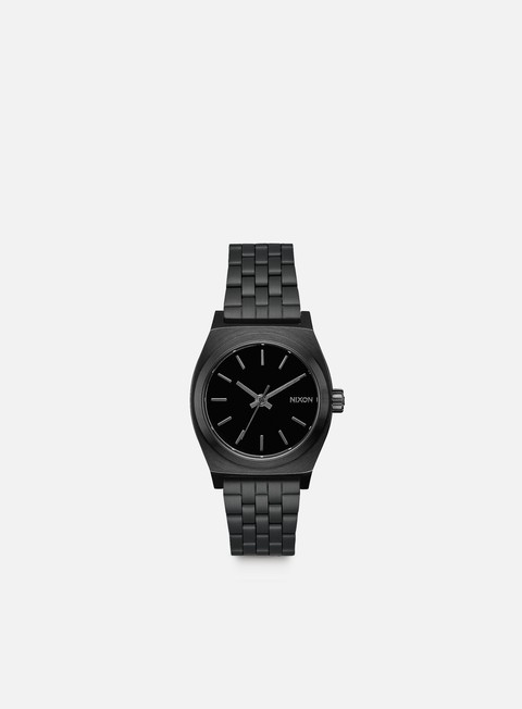 accessori nixon medium time teller all black
