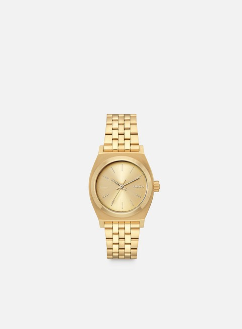 accessori nixon medium time teller all gold