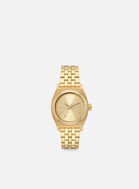 Nixon - Medium Time Teller, All Gold