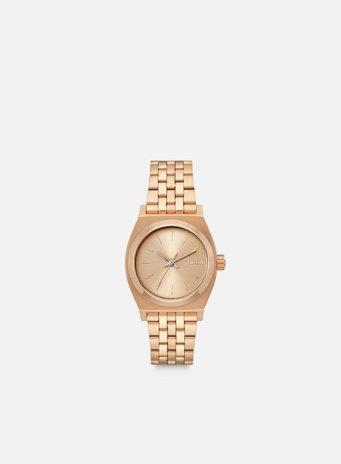 accessori nixon medium time teller all rose gold