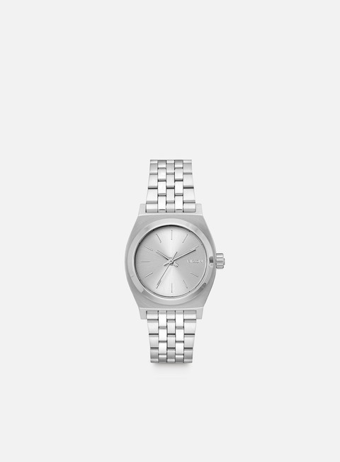 accessori nixon medium time teller all silver