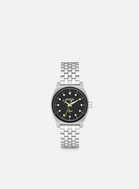accessori nixon medium time teller black abysse