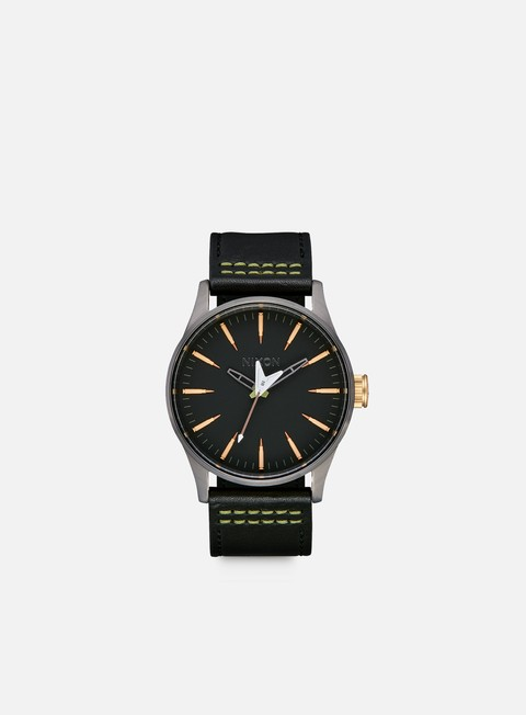 Watches Nixon Metallica Sentry Leather