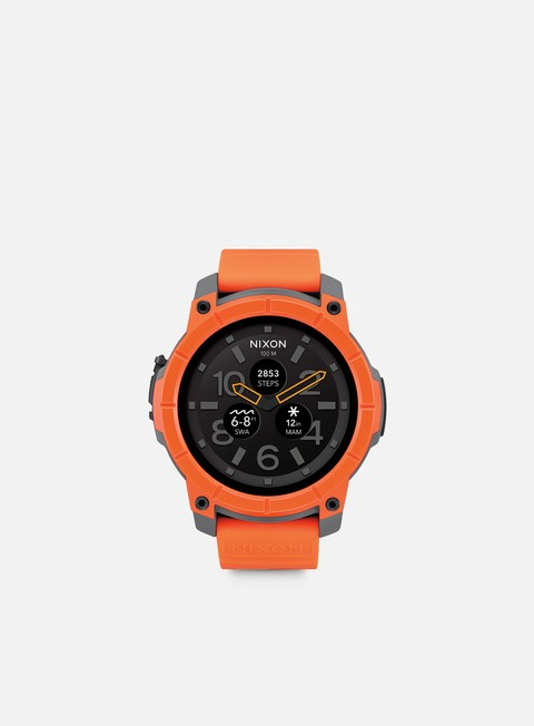 accessori nixon mission orange grey black
