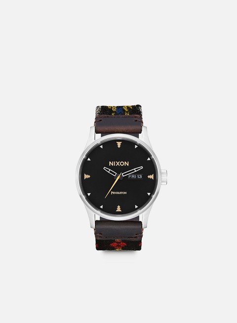 Watches Nixon Pendleton Sentry Leather