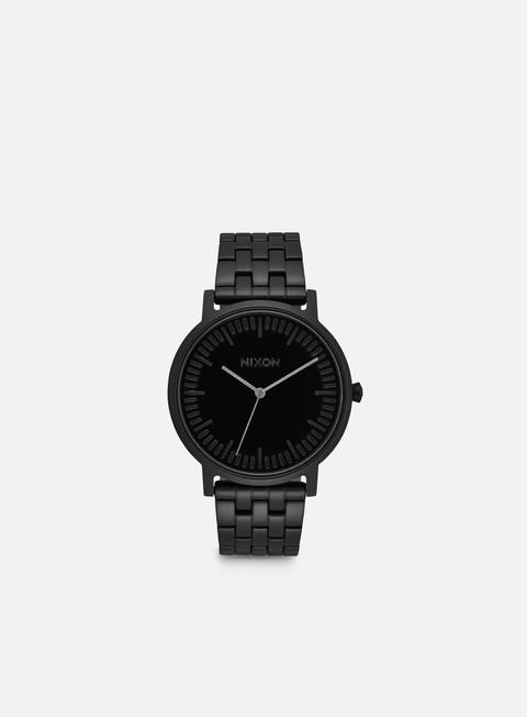 accessori nixon porter all black