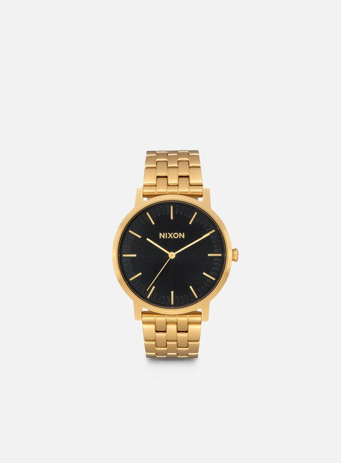 accessori nixon porter all gold black sunray