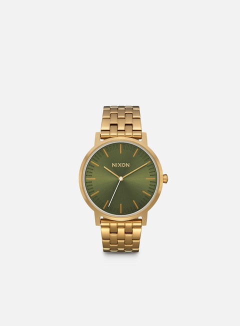 accessori nixon porter all gold olive sunray
