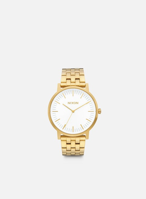 accessori nixon porter all gold white sunray