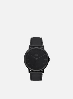 Nixon - Porter Leather, All Black