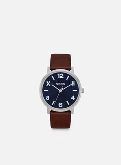 Nixon - Porter Leather, Blue/Brown/Cali