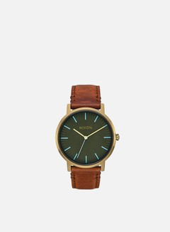 Nixon - Porter Leather, Brass/Surplus/Tan