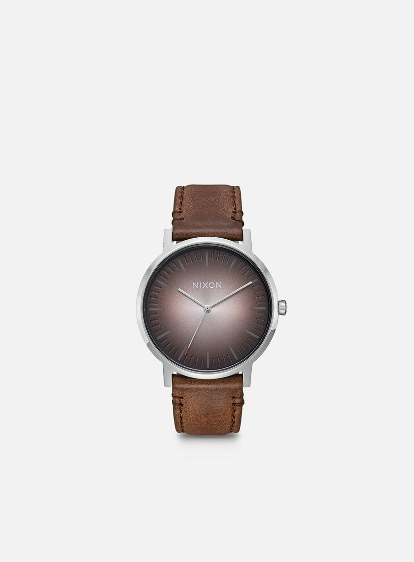 Nixon - Porter Leather, Ombre/Taupe