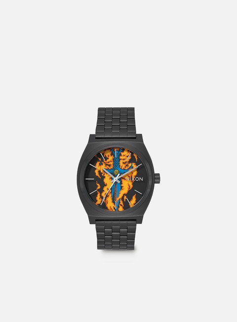 accessori nixon powell peralta time teller black guerrero