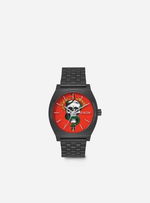 accessori nixon powell peralta time teller black mcgill