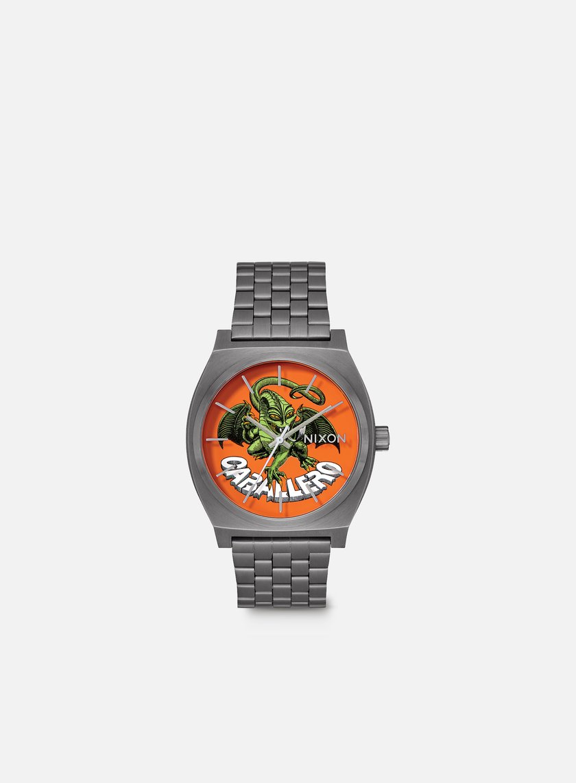 Nixon - Powell Peralta Time Teller, Gunmetal/Caballero
