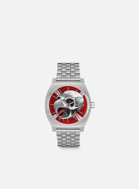 accessori nixon powell peralta time teller silver hawk