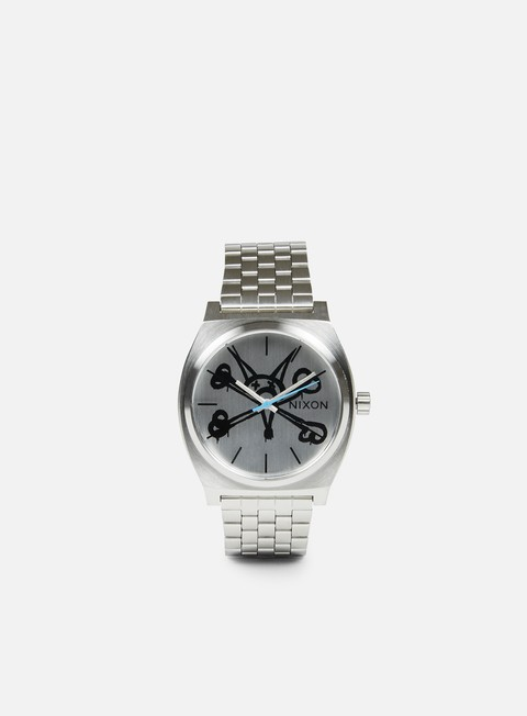 accessori nixon powell peralta time teller vato rat silver
