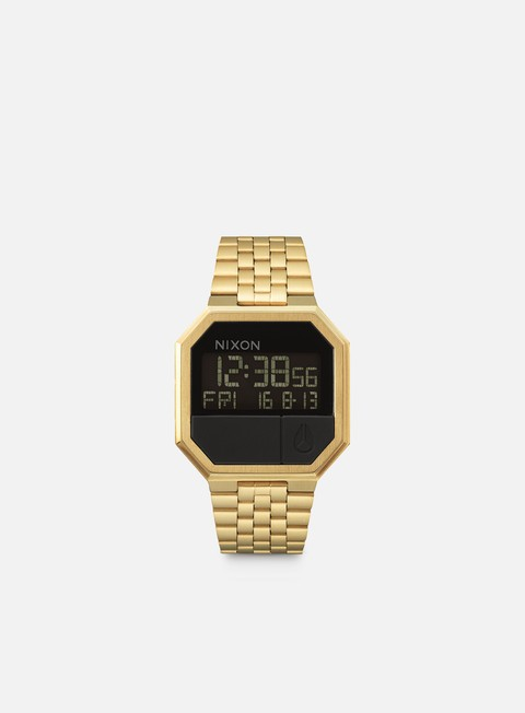 accessori nixon re run all gold