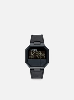 Nixon - Re-Run Leather, All Black