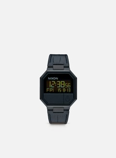 Nixon - Re-Run Leather, Black Croc 1