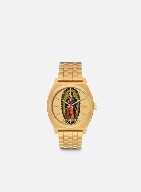 accessori nixon santa cruz time teller gold jessee