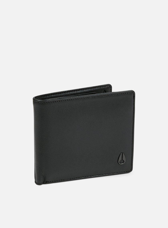 Nixon - Satellite Big Bill Bi-Fold Wallet, All Black