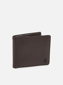Nixon - Satellite Big Bill Bi-Fold Wallet, Brown