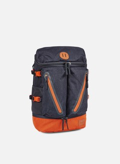 Nixon - Scripps Backpack, Dark Grey/orange