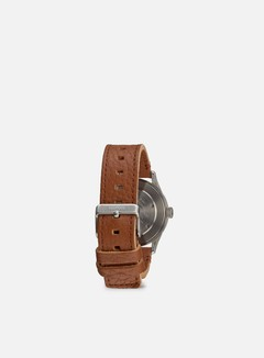 Nixon - Sentry 38 Leather, Black/Saddle 2
