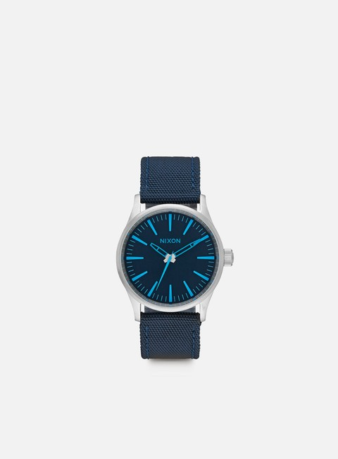 accessori nixon sentry 38 nylon dark blue