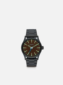 Nixon - Sentry 38 SS, All Black/Brown 1