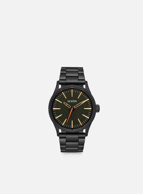 accessori nixon sentry 38 ss all black surplus