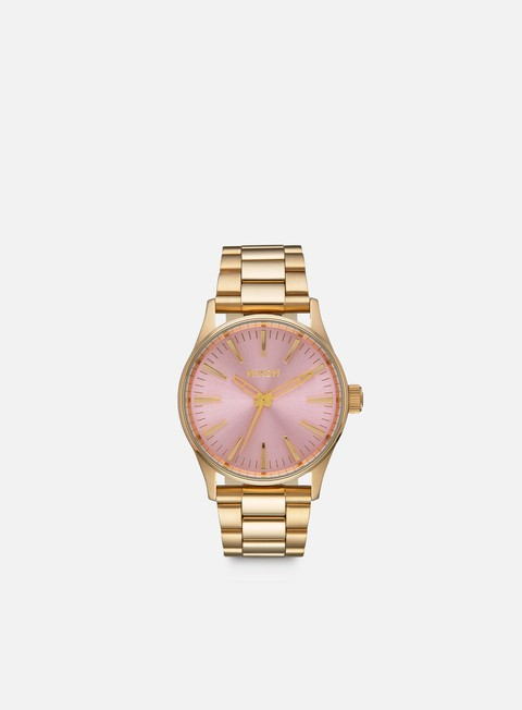 accessori nixon sentry 38 ss light gold pink