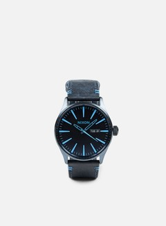 Nixon - Sentry Leather, All Dark Blue 1
